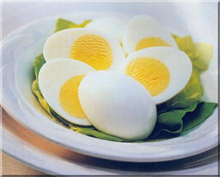 hard boiled eggs